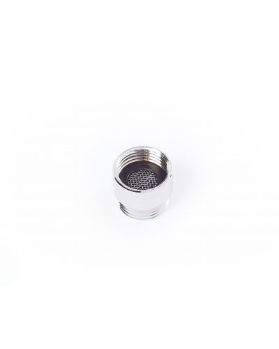 Metal casing shower insert